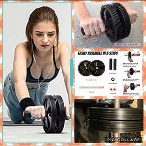 Ab Roller Wheel for Abdominal Exercises and